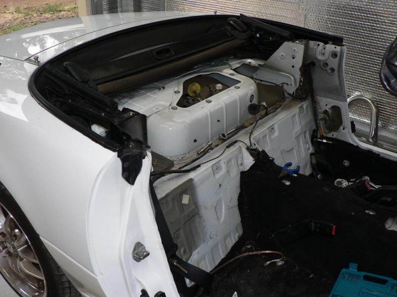 Custom Grp Speaker Subwoofer Box Within Mk1 Rear Deck I